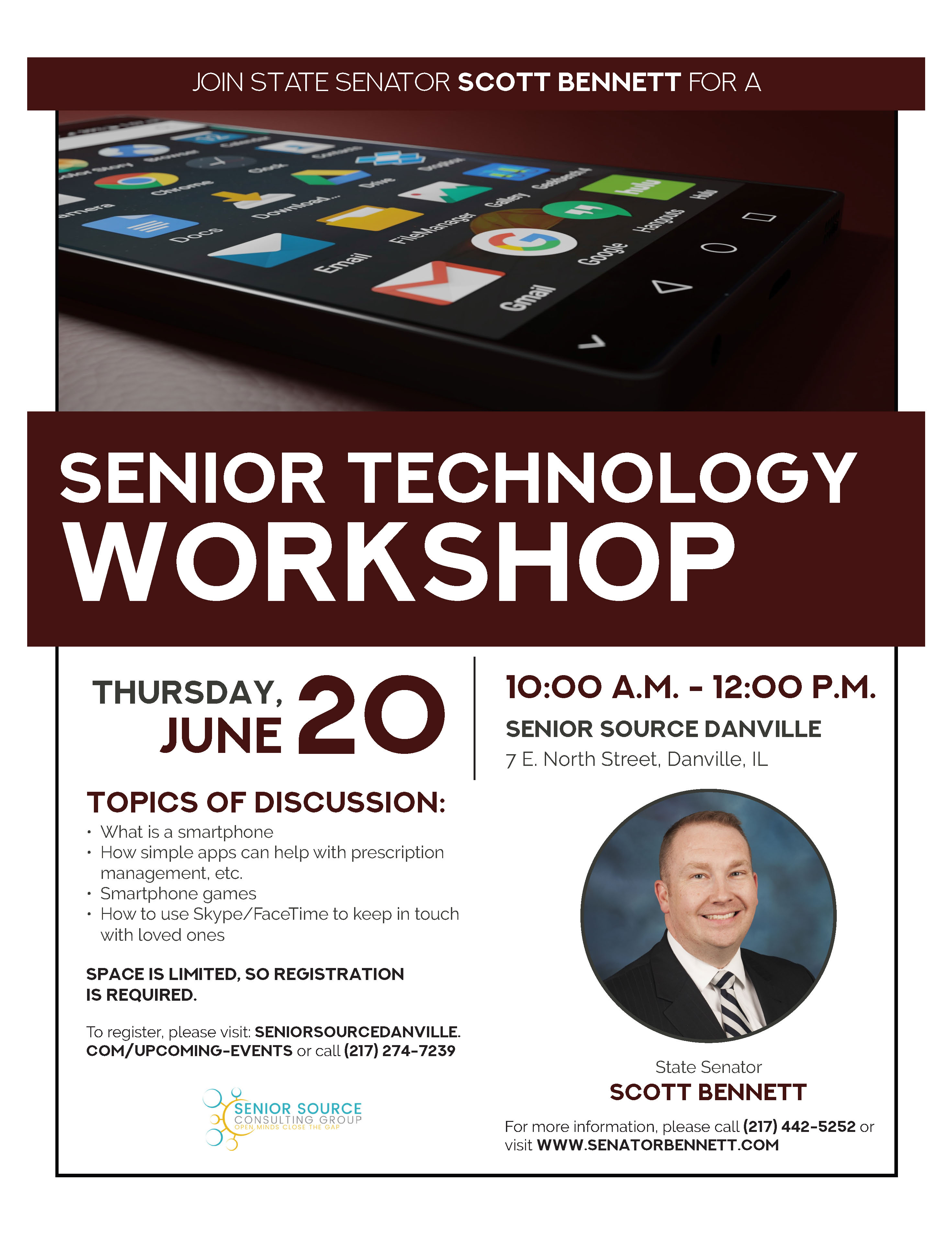 Bennett Senior Tech Event updated