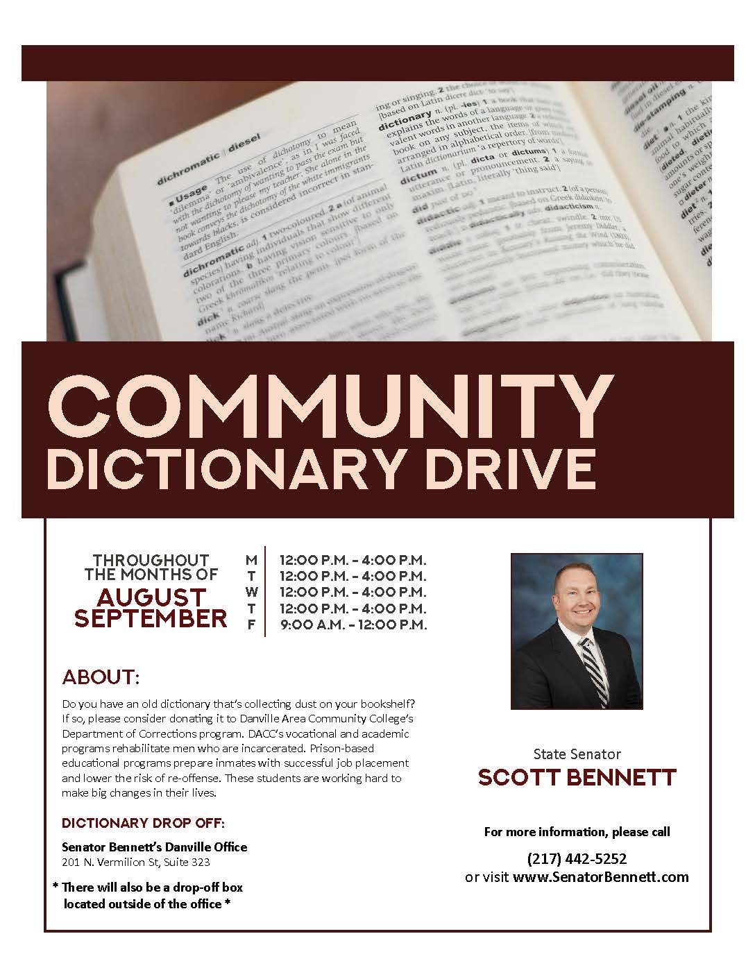 Dictionary Drive Updated Flyer