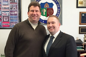 New State Senator Meets with Danville Mayor